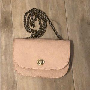 Small blush purse